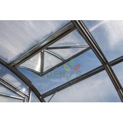 Jumta logi, ventilācijas atveres Siltumnīcas jumta lūka logi...